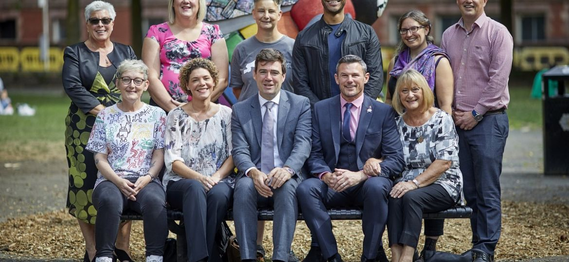 GM Mayor with LGBT adviser and panel members