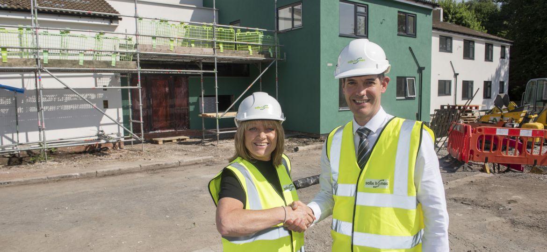Salford housing development for NHS staff