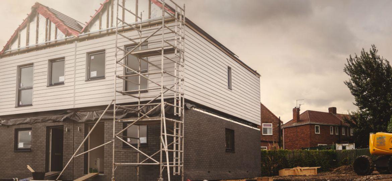 First homes take shape at Gatehead living 'laboratory'