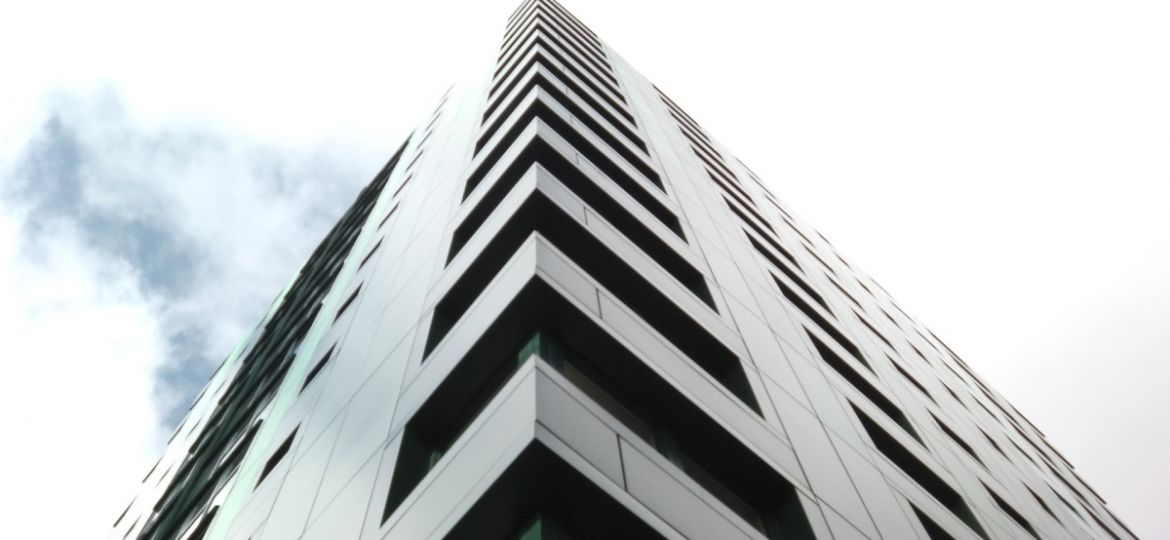 Cladding tower high-rise