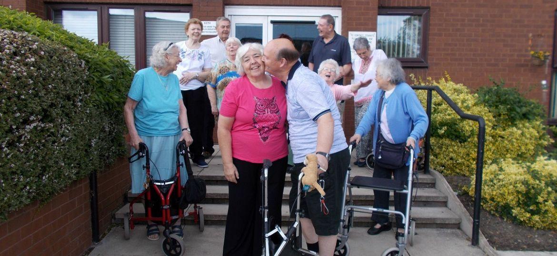 Wirral walk for Dementia UK (Demo)