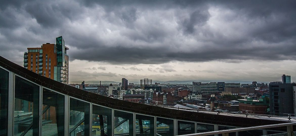 The Greater Manchester skyline