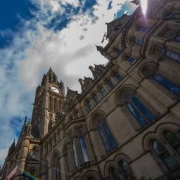 Manchester Town Hall.
