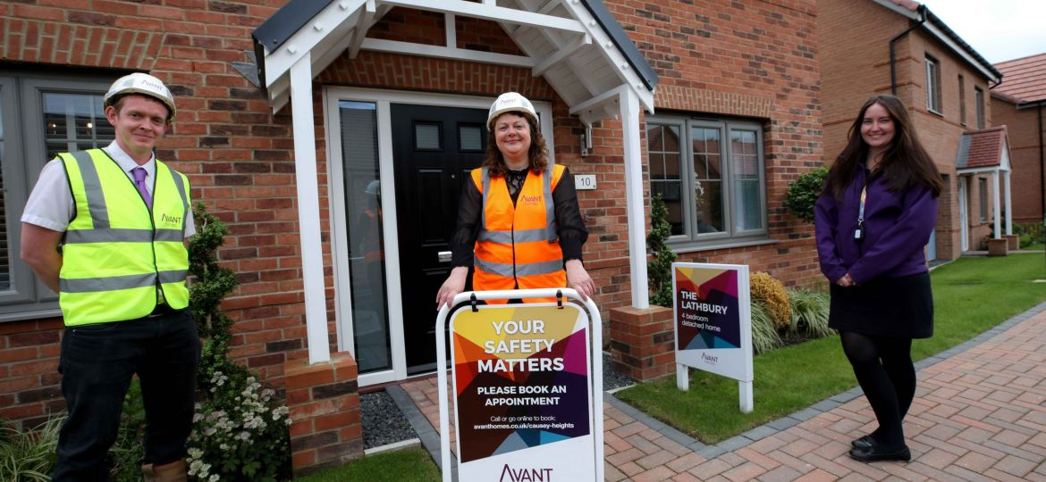 Avant Homes North East has experienced a surge in prospective buyer enquiries the since sales and construction restarted (Demo)