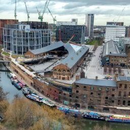 A view of the King's Cross Central development in 2019.