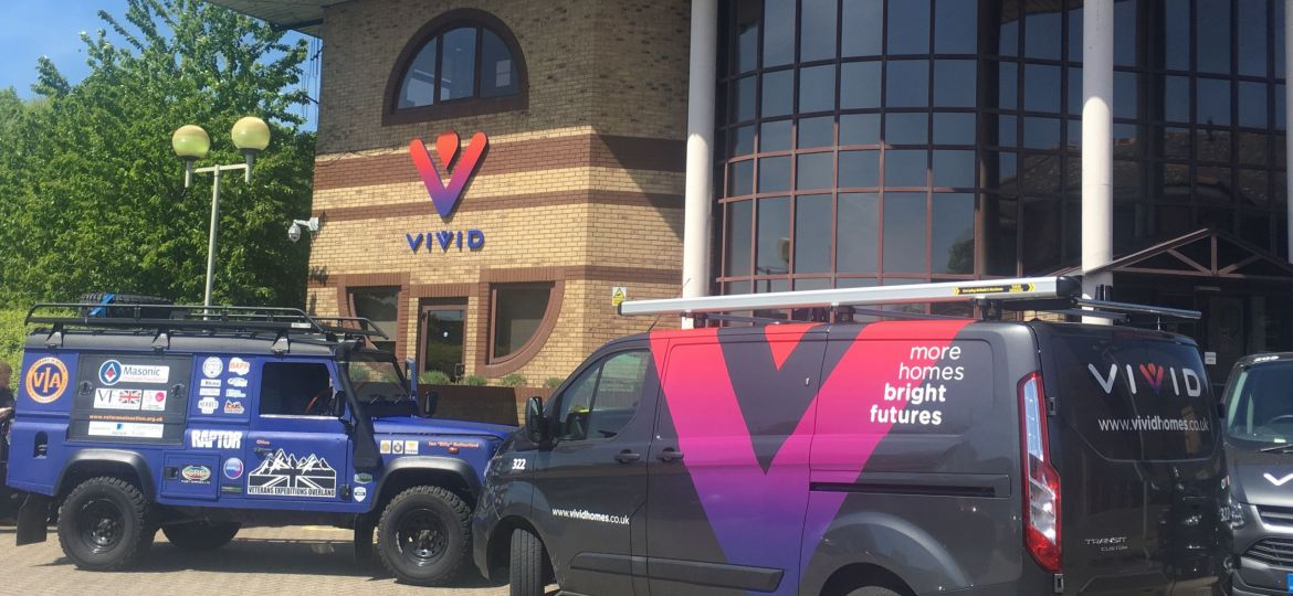 VIVID and its charity of the year Veterans in Action