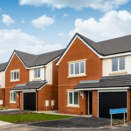 Some of the new homes at Torus' Fernley Green development in Kew, Southport.