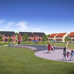 An artist's impression of ENGIE's development in Winsford.