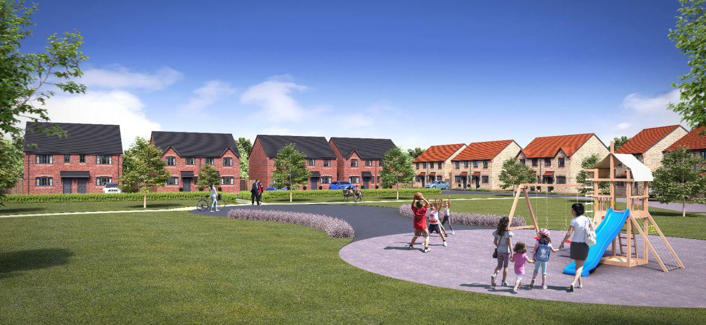 An artist's impression of ENGIE's development in Winsford.