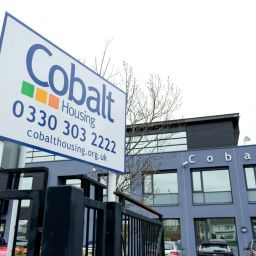 An exterior shot of Cobalt Housing's office in North Liverpool.