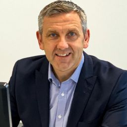 A profile photo of Paul Breen, Living Space Housing's commercial director.