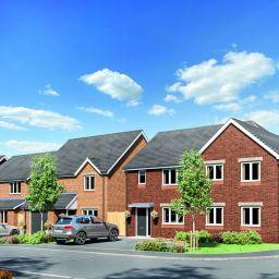 Vistry Partnership's Coupe Green development in Preston.