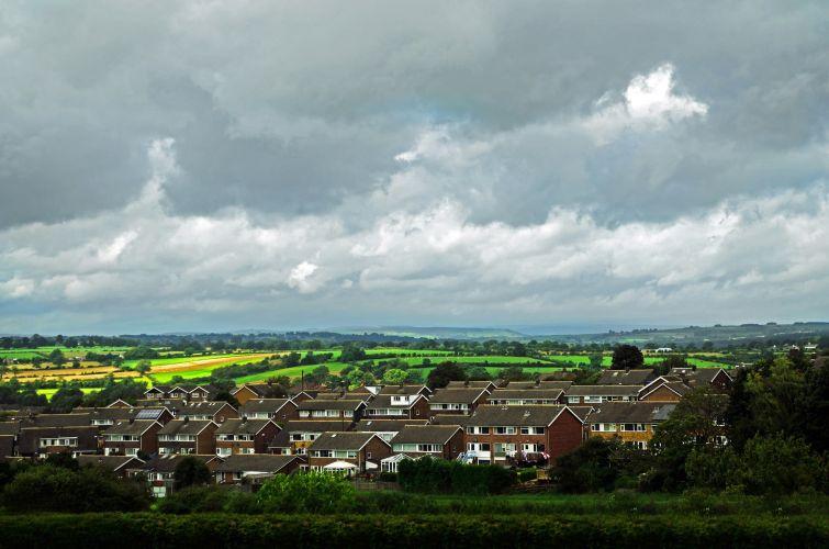 The skyline over Harrogate, North Yorkshire.