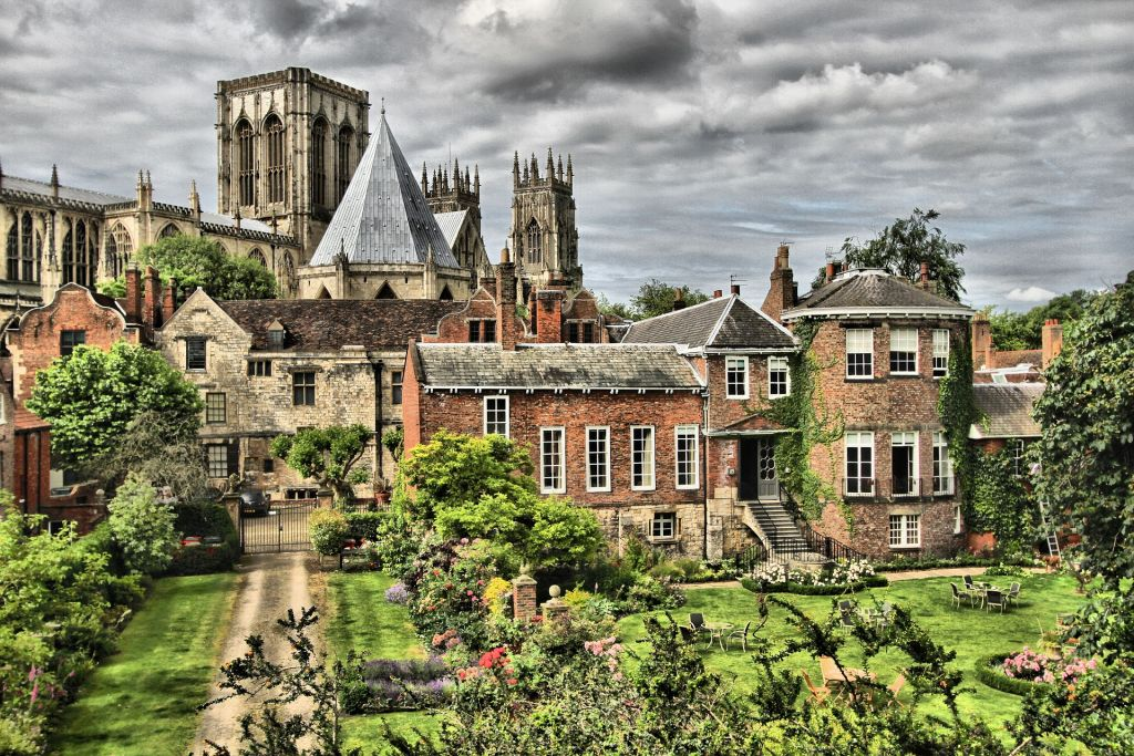 York Minster, the seat of the archbishop of York.
