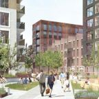 Image: An artist's impression of the Blackhorse Yard scheme being delivered by Catalyst and Swan Housing Association. Credit: Catalyst/Swan Housing Association