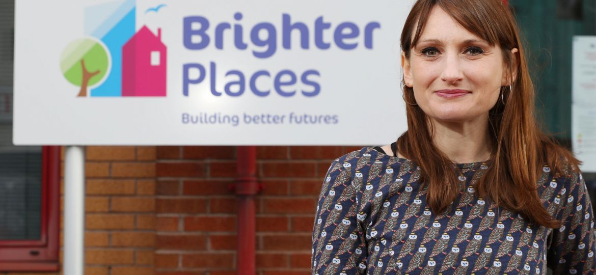Anna Klimzczak, CEO of Brighter Places, the Bristol-based housing association.