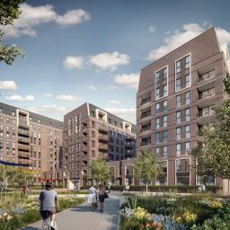 Image: A CGI of Lovell's Tolworth development.
