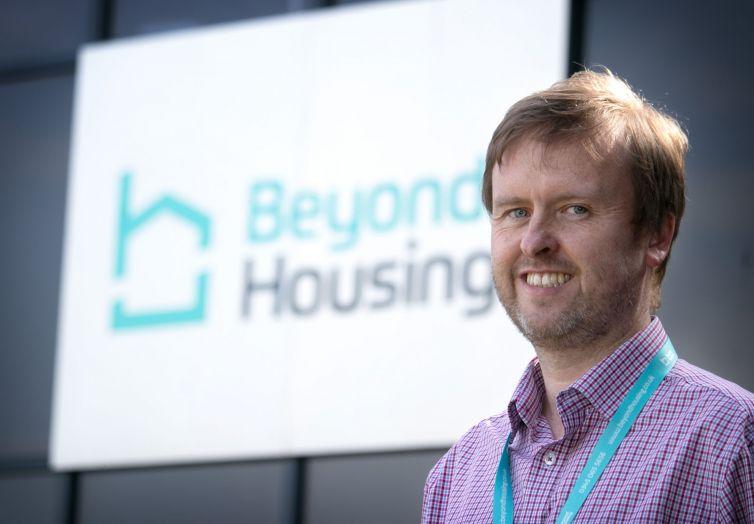Chris Roberts, Beyond Housing Director of Customer Service.