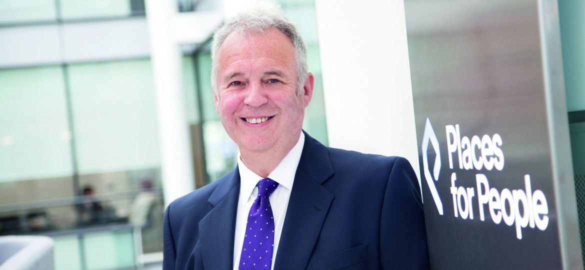 David Cowans, Places for People's outgoing group chief executive.