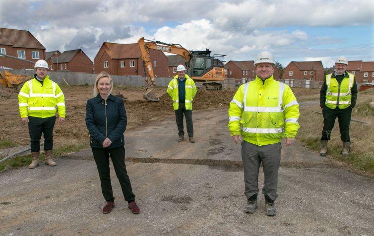 Mill Meadows start on site A ka