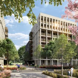 A CGI of Network Homes' Northwick Park redevelopment.