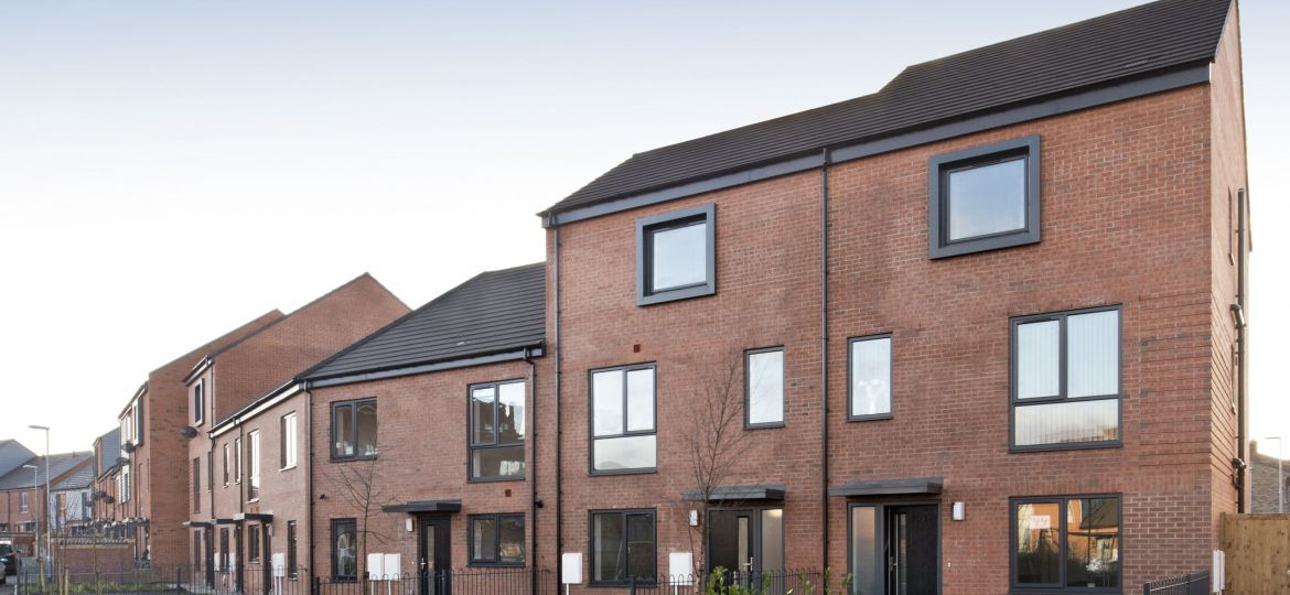 Homes at ENGIE's Primrose Bank development in Oldham, Greater Manchester.