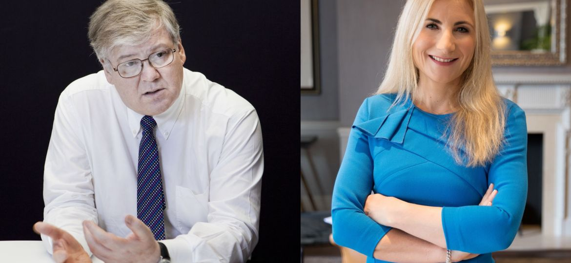 Paul Morrell (left) and Anneliese Day (right) who will lead the independent review of the system for testing construction products.
