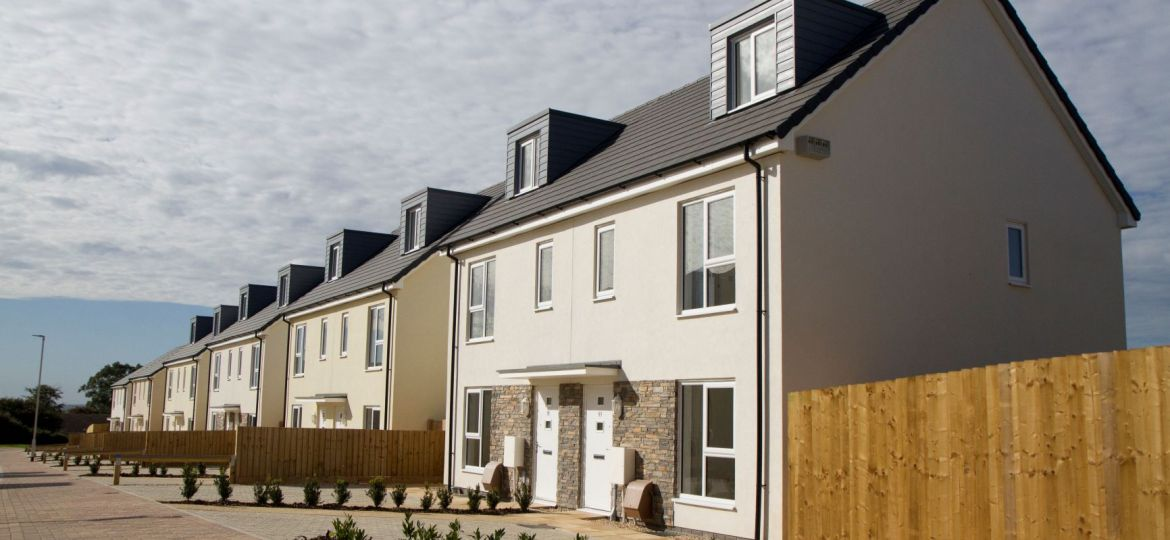 Porsham Heights, one of Plymouth Community Homes' developments in Plymouth.