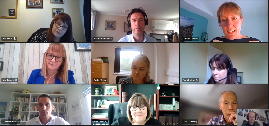 Guests at our latest virtual roundtable in May 2021.