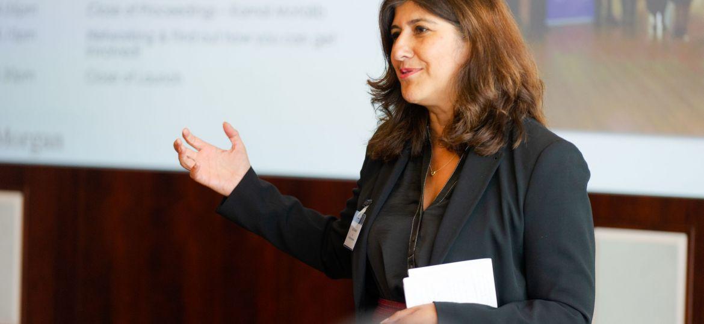 Geeta Nanda, the new chair of the G15.