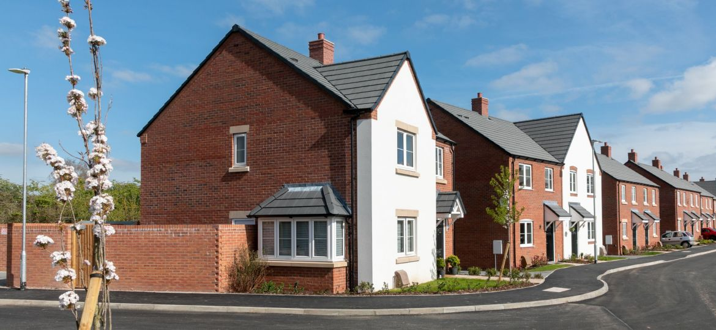 Platform Housing Group's new development in Powick, Worcestershire.