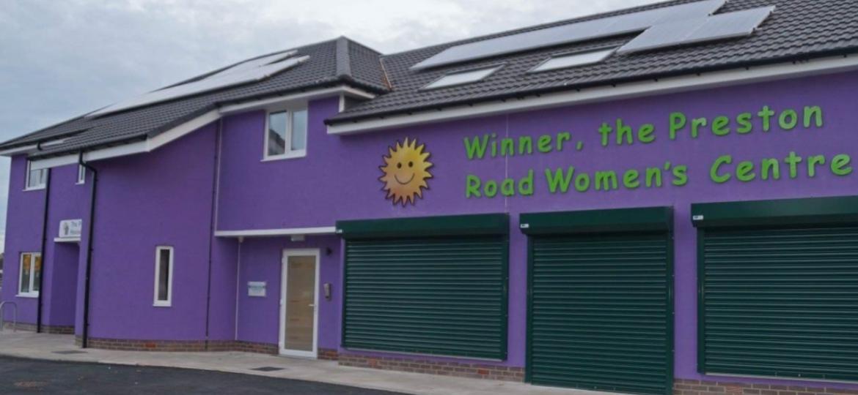 Winner, the Preston Road Women's Centre in Hull.