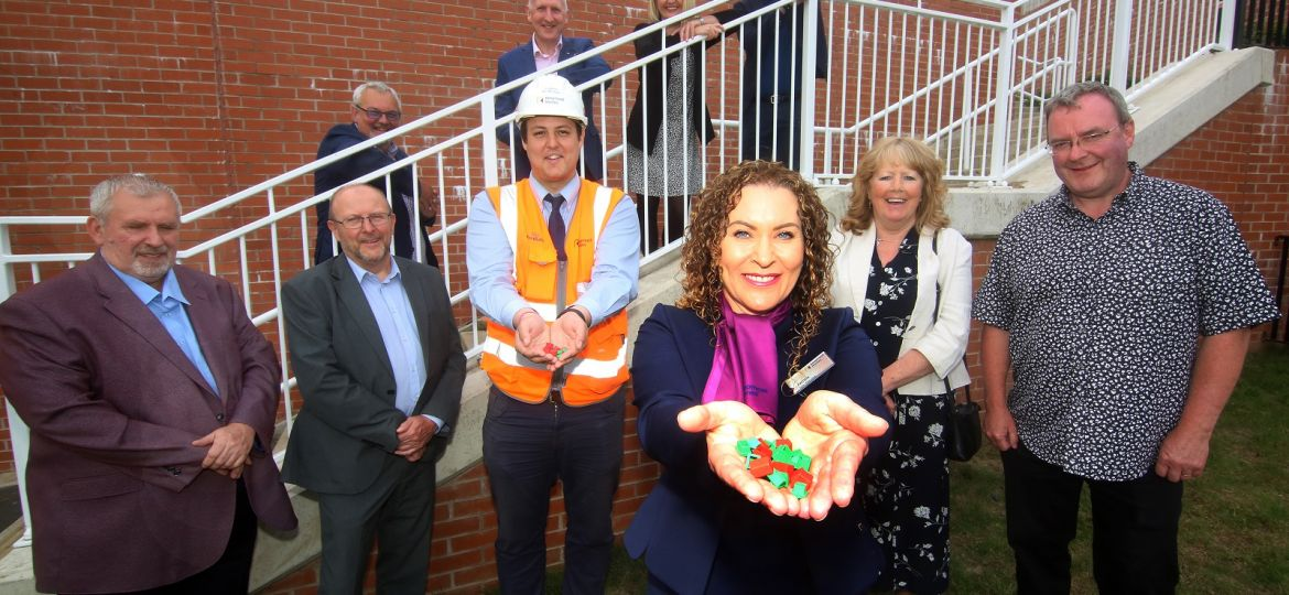 Sheffield Housing Company celebrate the completion of their 1,000th home along with reprsentatives from the City Council, Great Places and Keepmoat at the Eclipse development on Harborough Avenue.