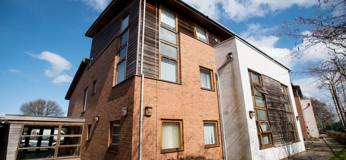 2 - An installation was carried out for Housing 21 to improve the protection of older residents and the two-story extra care scheme's means of escape