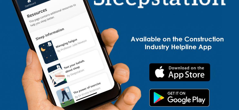 Sleepstation app graphic