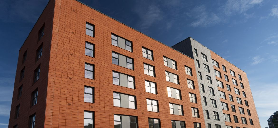 The new Artifex apartment block in Trinity